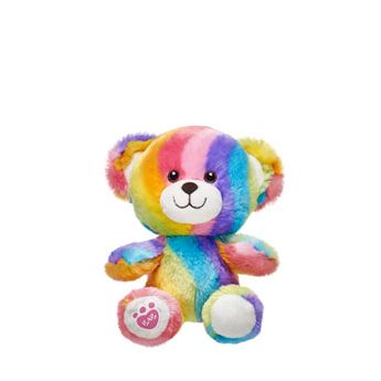 BUILD-A-BEAR BUDDIES RAINBOW BEAR