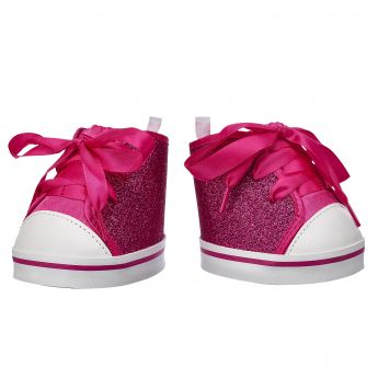 FUCHSIA SPARKLE HI-TOP