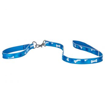 PROMISE PETS BLUE BONE LEASH